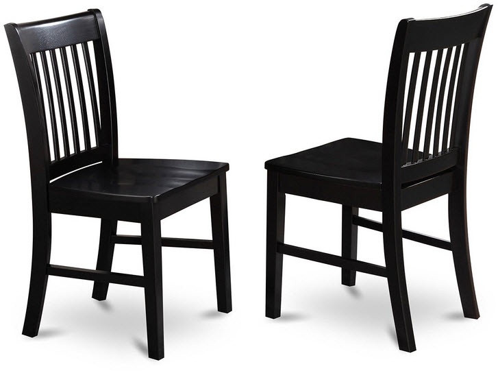 Black Wood Dining Room Chairs Foregather Net