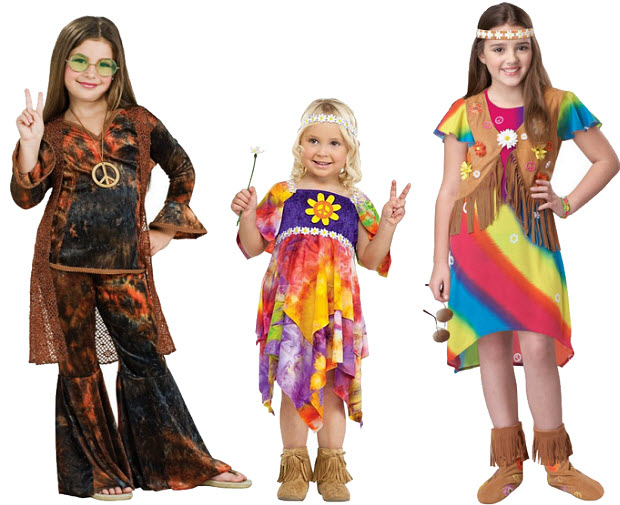 girls hippie halloween costume