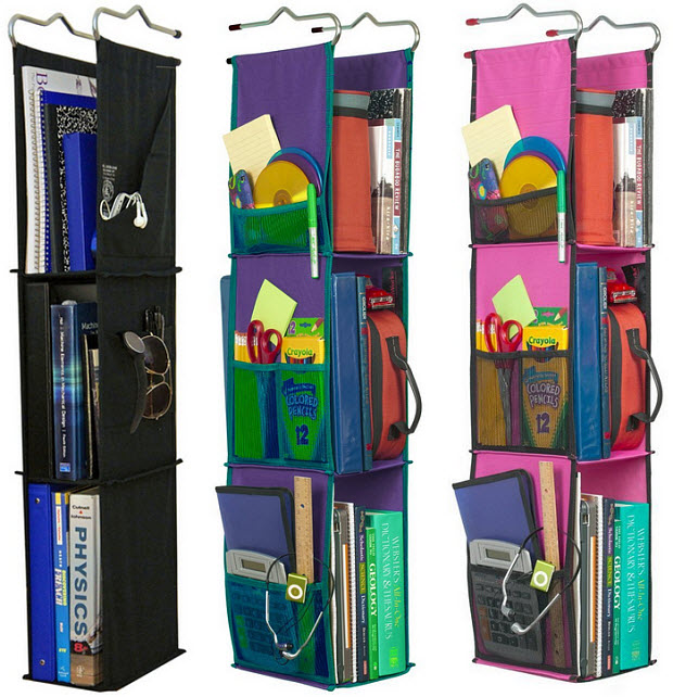 fabric locker shelf