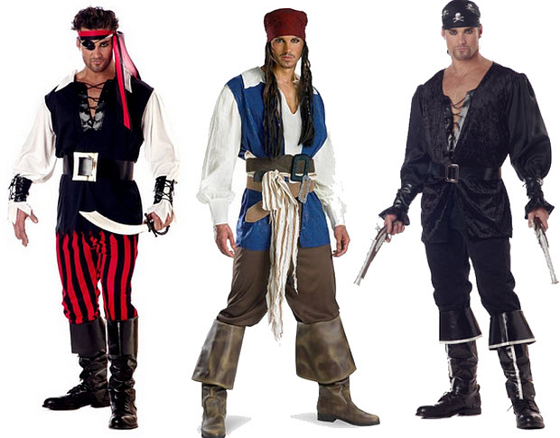 pirate halloween costumes for men